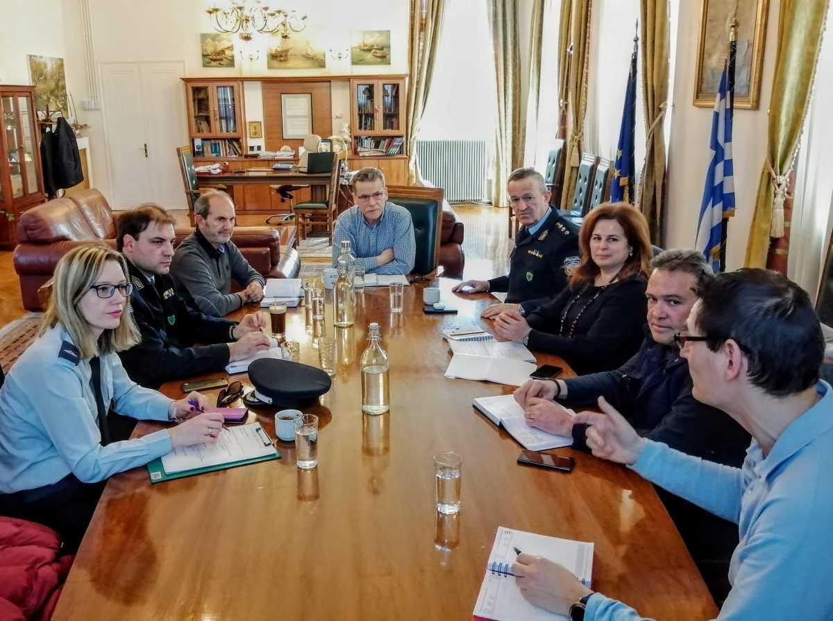 Σε τελική ευθεία για την Αποκριά-Συνάντηση του δημάρχου Κοζάνης και του αστυνομικού διευθυντή Κοζάνης για τα μέτρα ασφαλείας