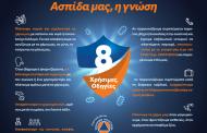 Ενημέρωση για τον κορωνοϊό από τη Γενική Γραμματεία Πολιτικής Προστασίας