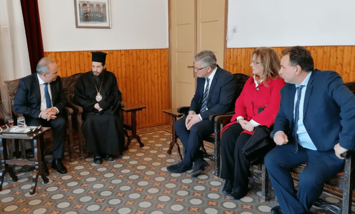 Επίσκεψη υφυπουργού ανάπτυξης και επενδύσεων Νίκου Παπαθανάση στο δήμο Βοΐου και τοποθέτηση Δημάρχου Βοϊου στην εκδήλωση για τα 100 χρόνια του επιμελητηρίου Κοζάνης.