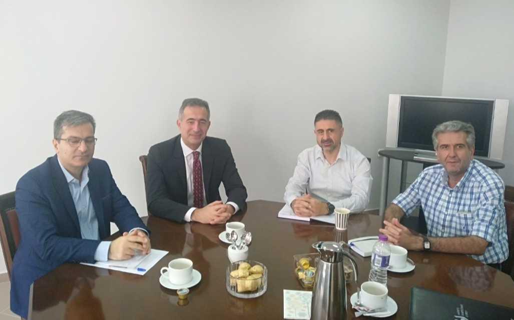 Ψηφιακό και Πράσινο Πανεπιστήμιο! Συζήτηση με τον Πρύτανη κ. Θεοδουλίδη και τους Αντιπρυτάνεις κ. Σαρηγιαννίδη και κ. Ιορδανίδη είχε ο βουλευτής Ν. Κοζάνης Στάθης Κωνσταντινίδης