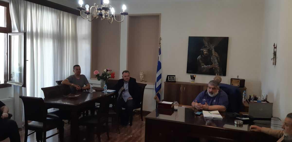 Συνάντηση του Δημάρχου Εορδαίας με ιδιοκτήτες καταστημάτων εστίασης και καφέ.