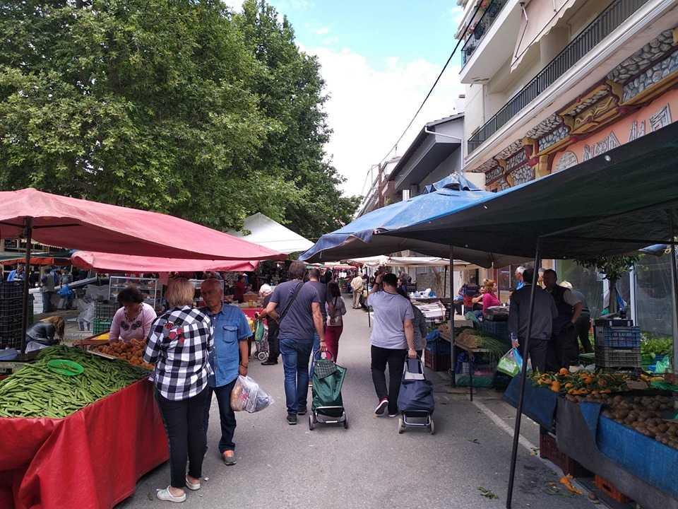 Ανακοίνωση για την λειτουργία των λαϊκών αγορών του Δήμου Σερβίων