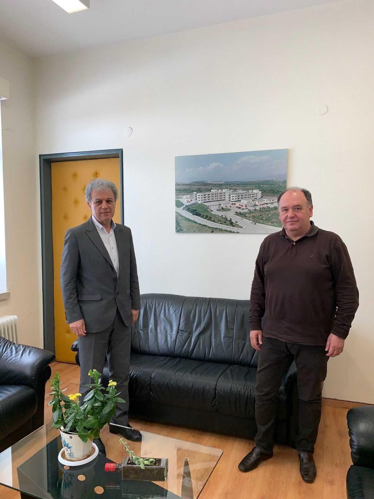 Μια παραγωγική συνεργασία έγινε στο ΜΠΟΔΟΣΑΚΕΙΟ Νοσοκομείο Πτολεμαΐδας μεταξύ του Βουλευτή Ν. Κοζάνης κ. Γιώργου Αμανατίδη και του Διοικητή του ΜΠΟΔΟΣΑΚΕΙΟΥ κ. Σταύρου Παπασωτηρίου