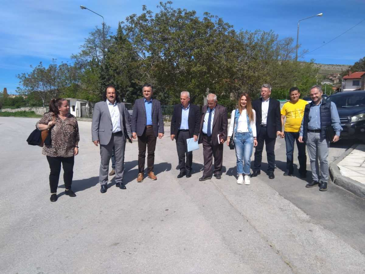 Επίσκεψη στις Τοπικές Κοινότητες Κέλλης και Βεύης της Π.Ε. Φλώρινας πραγματοποίησε ο Περιφερειάρχης Δυτικής Μακεδονίας Γιώργος Κασαπίδης.