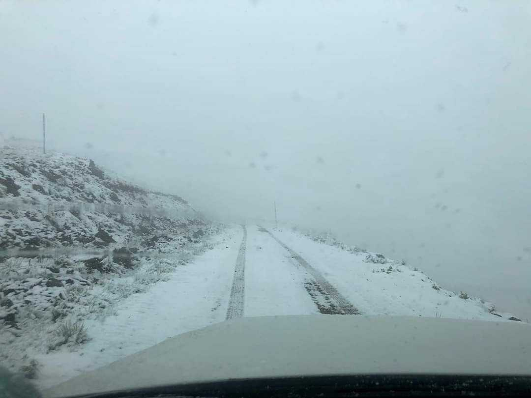 Μετά τα 35άρια του Μαΐου έπεσε χιόνι σε Βίτσι, Καϊμάκτσαλάν και Βασιλίτσα