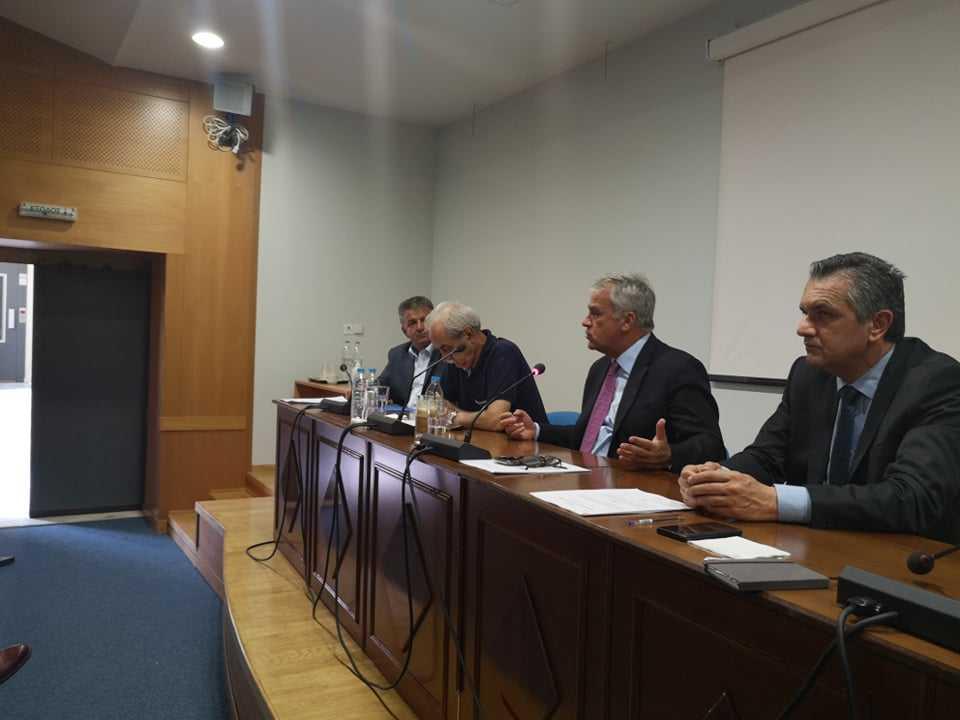 Μέτρα στήριξης του πρωτογενούς τομέα από τον Υπουργό Αγροτικής Ανάπτυξης & Τροφίμων μετά από πρόσκληση του Περιφερειάρχη Δυτικής Μακεδονίας Γιώργου Κασαπίδη στην Π.Ε. Κοζάνης
