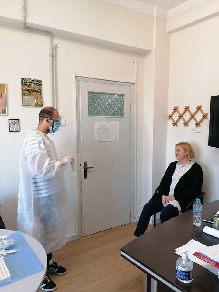Δειγματοληπτικός έλεγχος σε υπαλλήλους του δήμου Κοζάνης για COVID-19