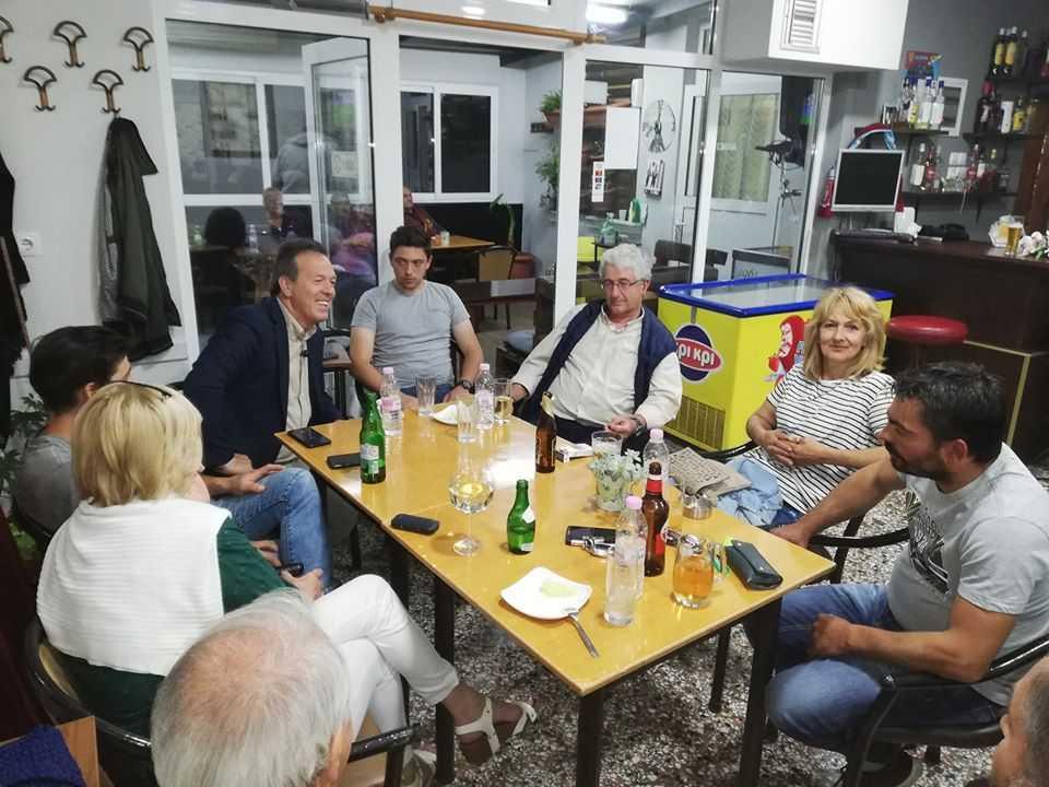 Με προέδρους των Καραγιαννίων συναντήθηκε ο Αντιδήμαρχος Γεώργιος Δουγαλής για θέματα που απασχολούν την καθημερινότητα των κατοίκων