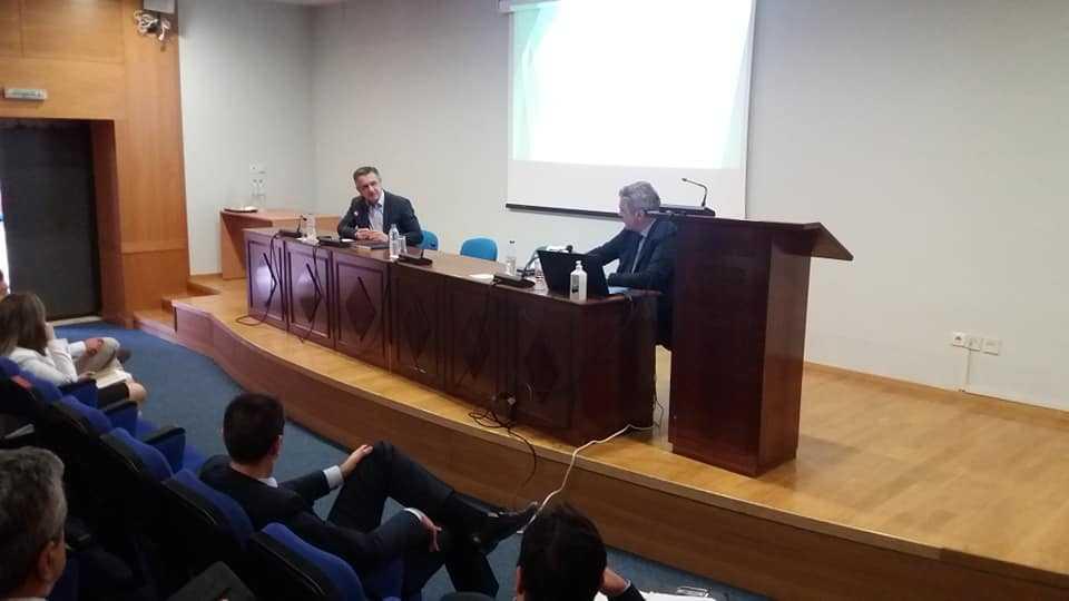 Ενημερωτικές ήταν οι πρώτες προγραμματισμένες επαφές του Συντονιστή του Σχεδίου Δίκαιης Αναπτυξιακής Μετάβασης Κωνταντίνου Μουσουρούλη,  Δευτέρα 15 Ιουνίου, πρώτη ημέρα της επίσκεψής του στην Περιφέρεια Δυτικής Μακεδονίας.