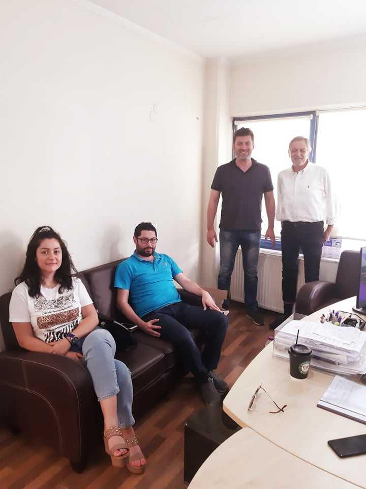 Συνάντηση της Τοπικής Διοίκησης του ΟΕΕ με τον Πάρι Κουκουλόπουλο