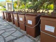 Εκδήλωση για την παραλαβή κάδων οικιακής κομποστοποίησης στο Δήμο Πρεσπών για το πρόγραμμα LESS WASTE ΙΙ στις 30/06/2020