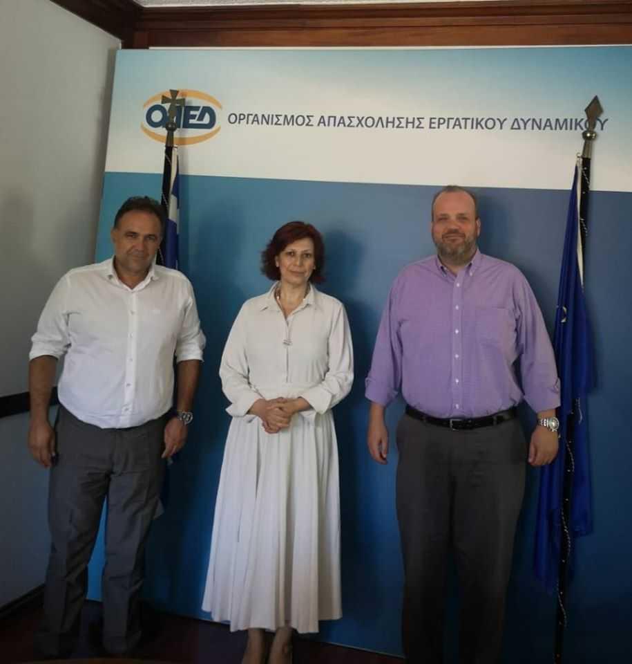 Επαφές του Προέδρου του Επιμελητηρίου Κοζάνης Νίκου Σαρρή στην Αθήνα για θέματα επενδύσεων , τεχνολογίας και ανάπτυξης της επιχειρηματικότητας