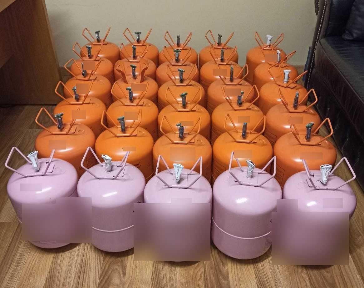 Κατασχέθηκαν 30 φιάλες με ψυκτικό υγρό συνολικού βάρους 329 κιλών. Συνελήφθησαν 2 60χρονοι σε περιοχή της Καστοριάς