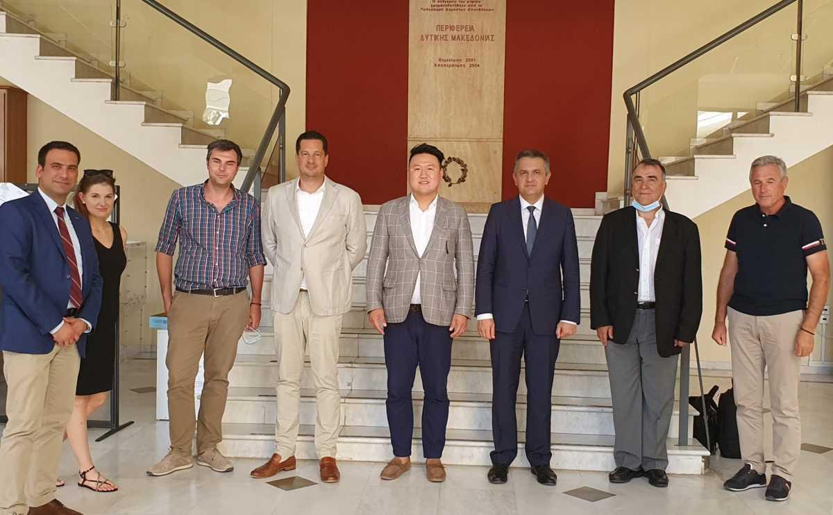 Κινεζικό ενδιαφέρον για επενδύσεις στη Δυτική Μακεδονία.