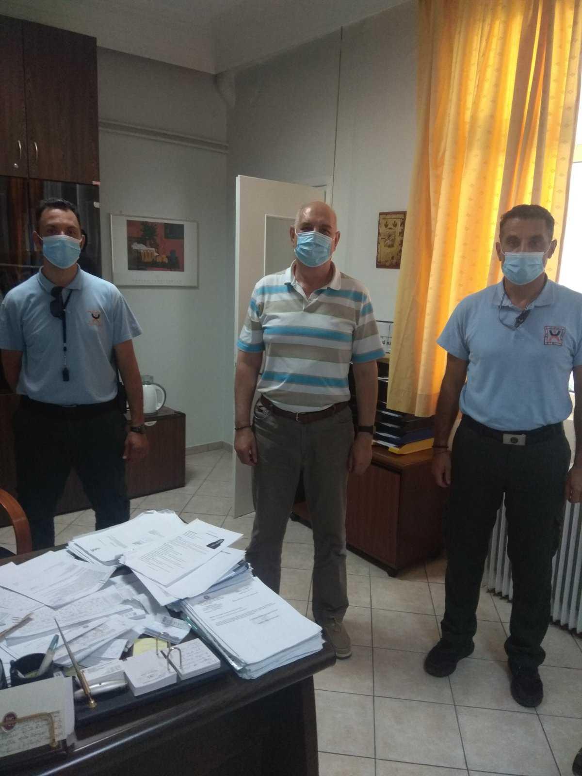 Κορωνοϊός: Ενημερώσεις της Δημοτικής Αστυνομίας Κοζάνης για τη χρήση μάσκας