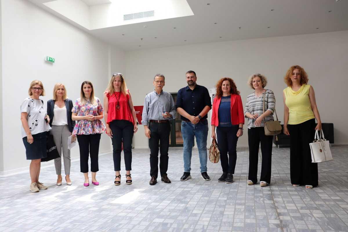 Συνάντηση με εκπροσώπους του Δήμου Θεσσαλονίκης και του Βαφοπούλειου Ιδρύματος στην Βιβλιοθήκη μας
