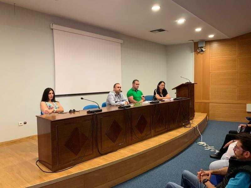 Συνάντηση του Αντιπεριφερειάρχη Κοινωνικής Ανάπτυξης και Μέριμνας Ηλία Τοπαλίδη  με συλλόγους ΑΜΕΑ της Περιφέρειας Δυτικής Μακεδονίας