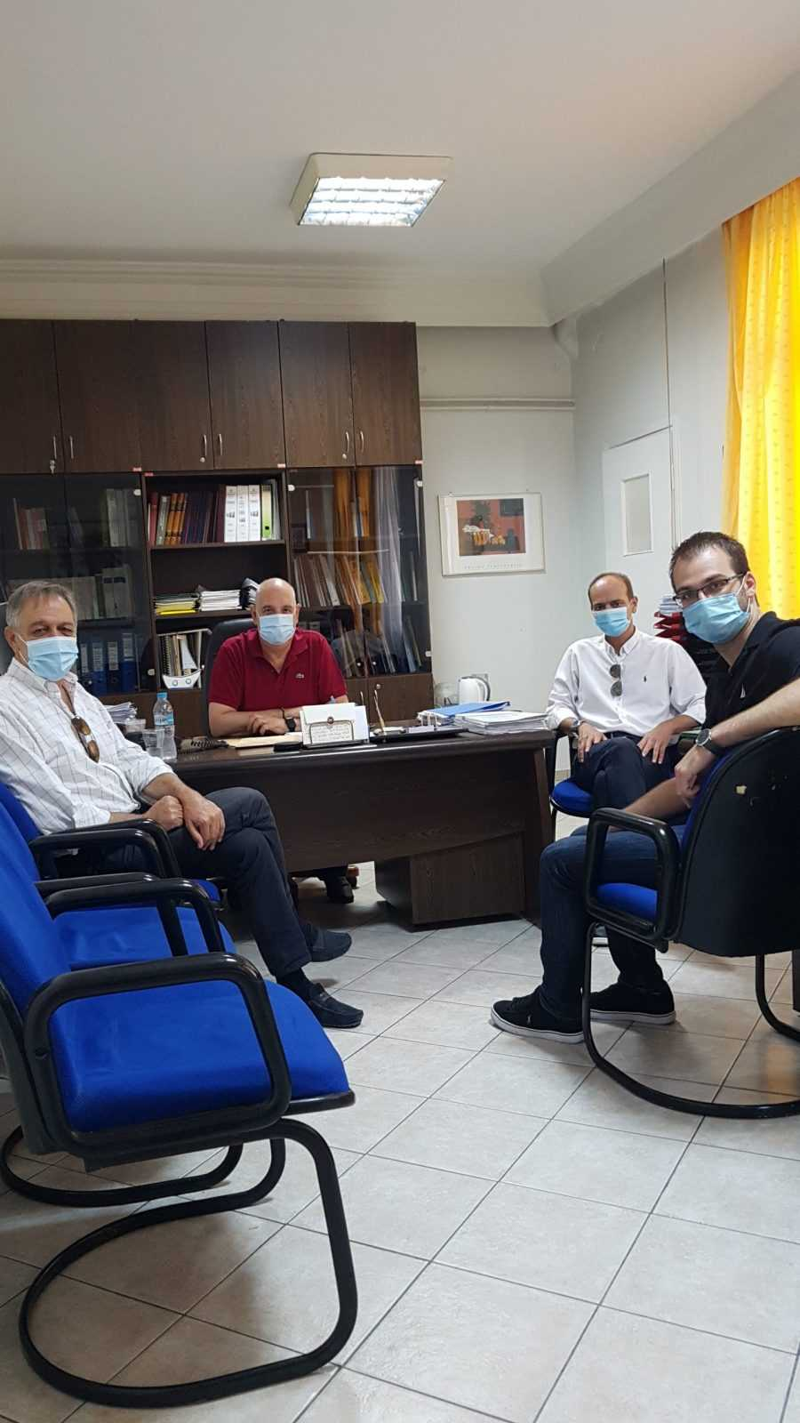 Το Κίνημα Αλλαγής στηρίζει το Ε.Σ.Υ. και τους Ανθρώπους του – Επίσκεψη σε Μαμάτσειο & Μποδοσάκειο Νοσοκομεία