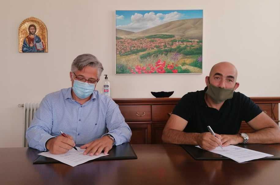 «Υπογραφή Σύμβασης Έργου Υπογείωση του εναέριου υποσταθμού Ι.Ν Αγ. Γεωργίου (Υ/Σ 4 Νεάπολης) και τμήματος του εναέριου δικτύου στον κεντρικό δρόμο του οικισμού της Νεάπολης του Δήμου Βοΐου»