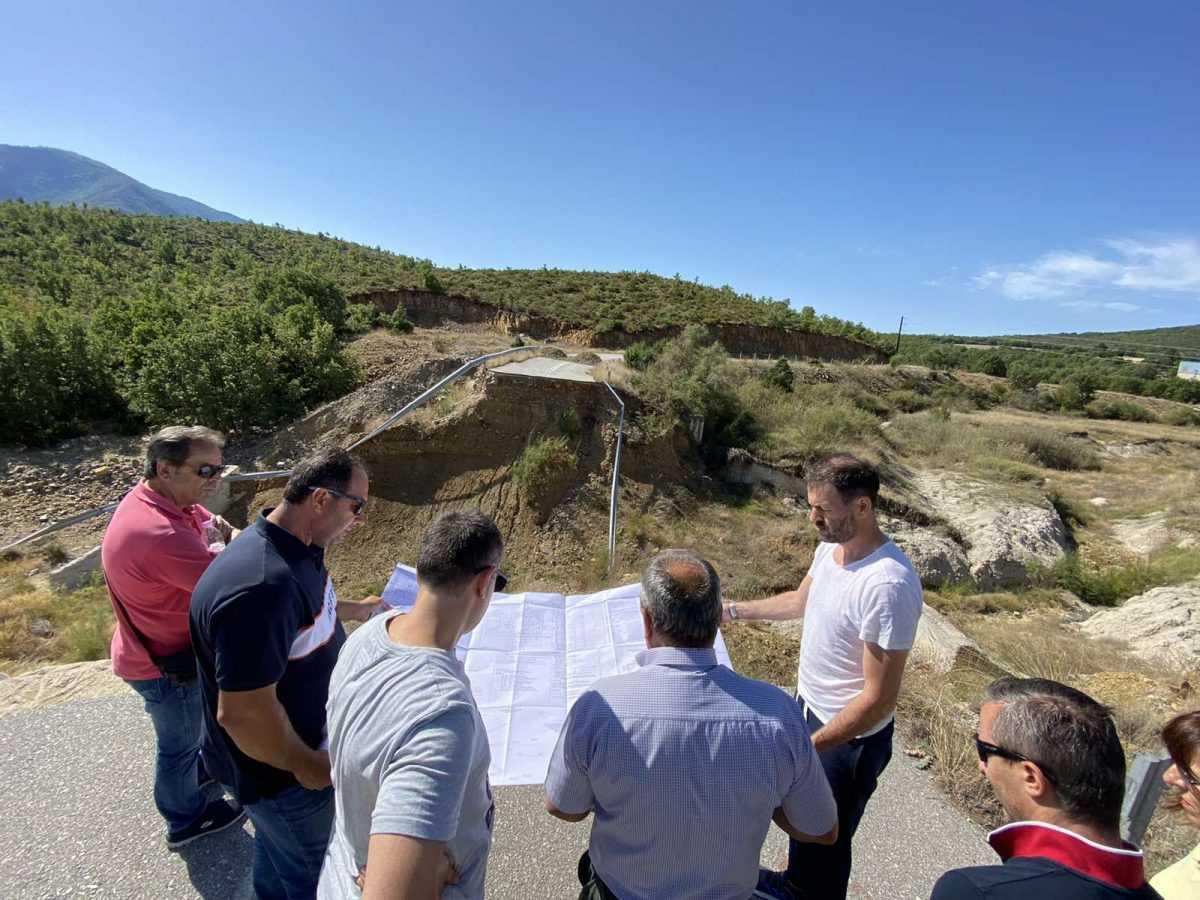 Δήμος Κοζάνης: Ξεκινούν οι εργασίες αποκατάστασης του δρόμου Χρωμίου – Ποντινής που είχε καταστραφεί από τις πλημμύρες του 2016