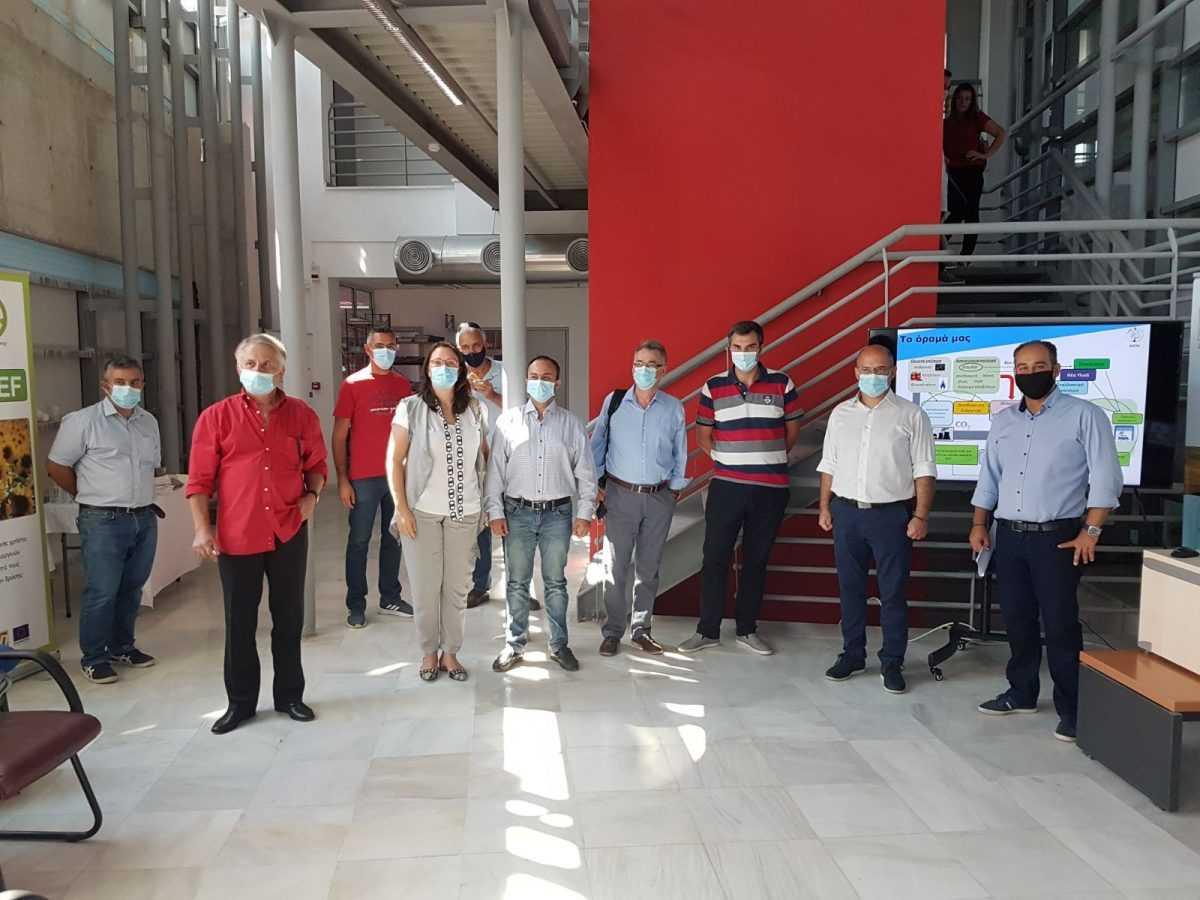 Πτολεμαΐδα: Επίσκεψη Αντιπεριφερειαρχών Δυτικής Μακεδονίας στις εγκαταστάσεις του ΕΚΕΤΑ στην Πτολεμαΐδα