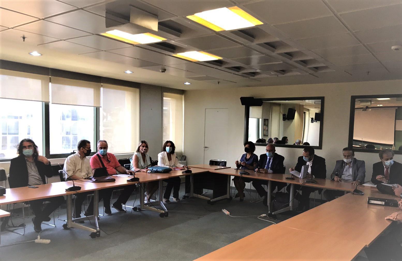 Συνάντηση τοπικών φορέων με Κ. Χατζηδάκη για τη λειτουργία του λιγνιτωρυχείου Προσηλίου - Πολυρράχου