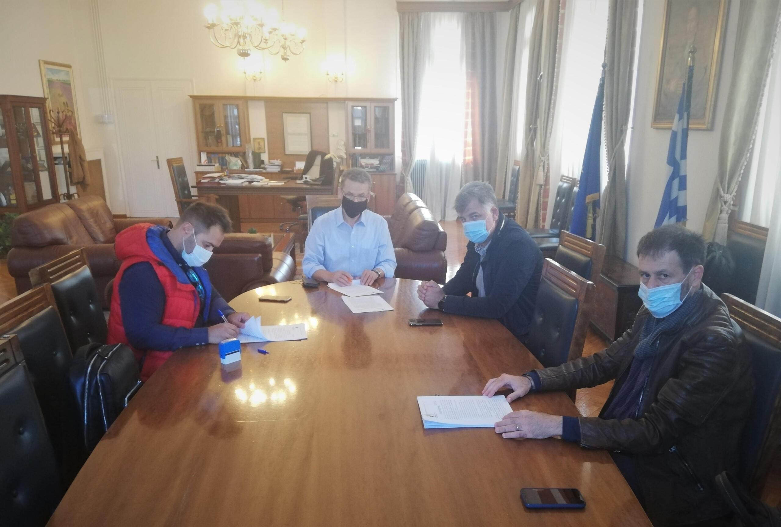 Θωρακίζονται τα πρώην λατομεία του Δήμου Κοζάνης