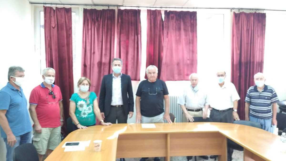 Συνάντηση του Βουλευτή Π.Ε. Κοζάνης Στάθη Κωνσταντινίδη με τη Συντονιστική Επιτροπή Αγώνα Συνταξιουχικών Οργανώσεων Νομού Κοζάνης