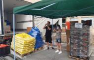 Πρόγραμμα ΤΕΒΑ: Διανομή τροφίμων και βασικής υλικής συνδρομής από την Κοινωφελή Επιχείρηση Δήμου Κοζάνης και την Π.Ε. Κοζάνης 28 και 29/9