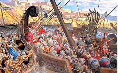 Η Ελλάδα γιορτάζει το παρελθόν……  (Αφιέρωμα στα 2.500 χρόνια από την μάχη των Θερμοπυλών και την ναυμαχία της Σαλαμίνας, 480 π.Χ.)