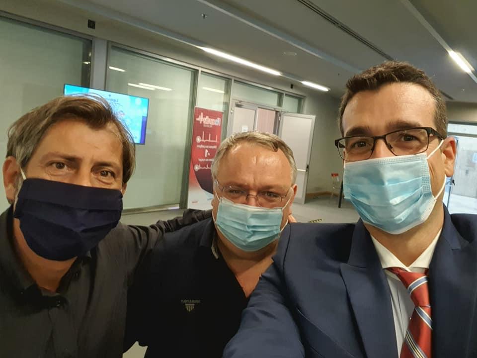 Ο Λαμπρόπουλος Στυλιανός, Κουλούρης Ευστάθιος και Ζαφείρης Άρης από την Καρδιολογική Κλινική του Μαμάτσειου Νοσοκομείου Κοζάνης στο Καρδιολογικό Συνέδριο: