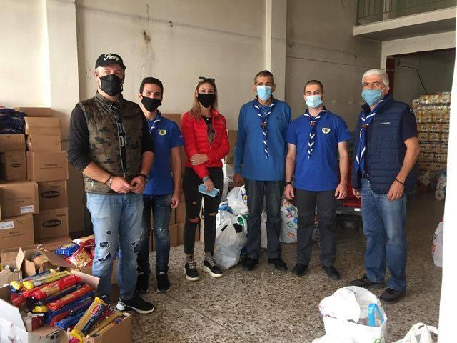 Στην Καρδίτσα τα είδηπρώτης ανάγκης που συγκέντρωσαν οι Πρόσκοποι της Δυτικής Μακεδονίας