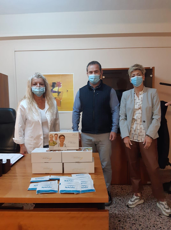 Δωρεά 500 τεστ ταχείας ανίχνευσης του Κορωνοϊού από τον Αντιπεριφερειάρχη Υγείας Ηλία Τοπαλίδη