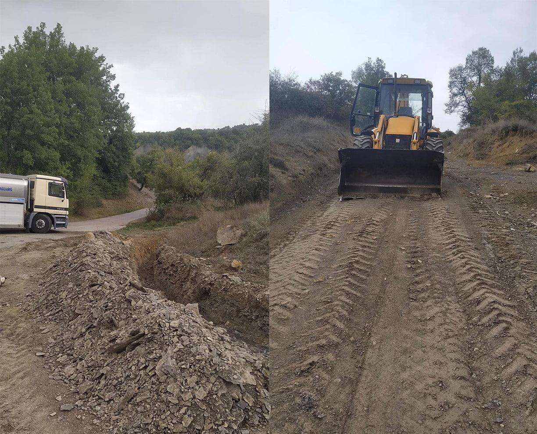 Σύνδεση του οικισμού των Λικνάδων στο δίκτυο της ΔΥΠΡΑ και υδροδότηση των απομακρυσμένων κτηνοτροφικών μονάδων στον Δήμο Βοΐου