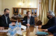 Ενημέρωση του δημάρχου Βοϊου κ. Ζευκλή στον κ. Τσίπρα για την κατάσταση που επικρατεί στο δήμο του όσον αφορά την πανδημία του κορωνοϊού