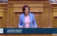 Ομιλία της Παρασκευής Βρυζίδου για τη Δημοκρατία, την Ιθαγένεια, την Τ.Α., τη Δημόσια διοίκηση κ.ά.