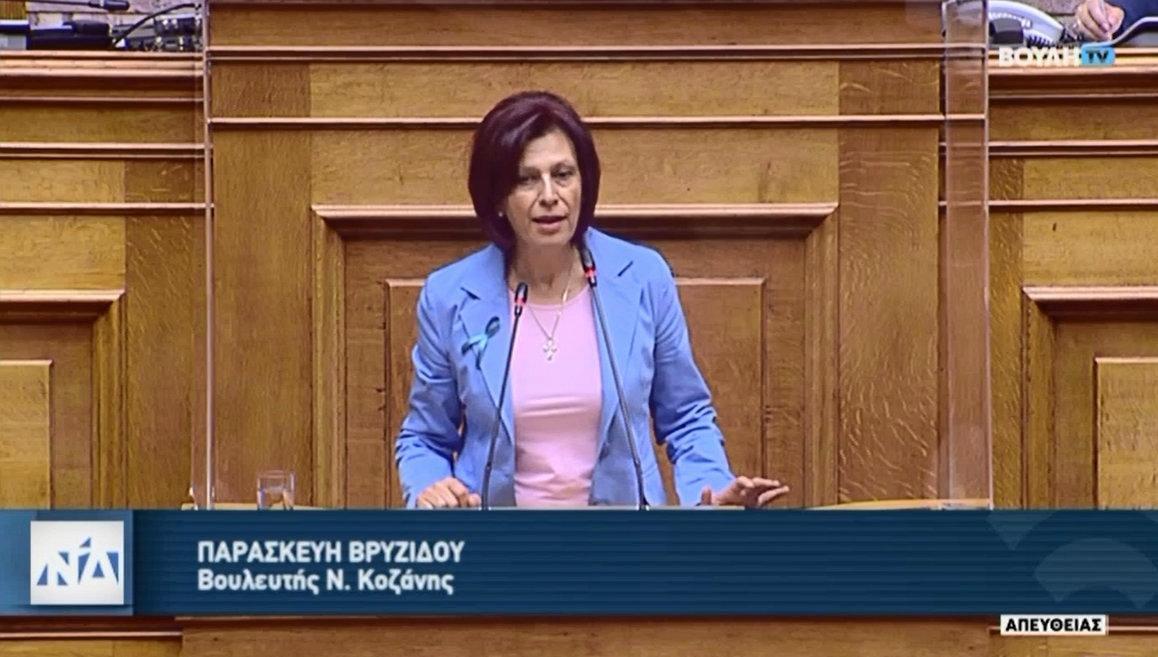 Ομιλία της Π. Βρυζίδου για την πρόταση δυσπιστίας του ΣΥΡΙΖΑ κατά του υπουργού Οικονομικών Χ. Σταϊκούρα
