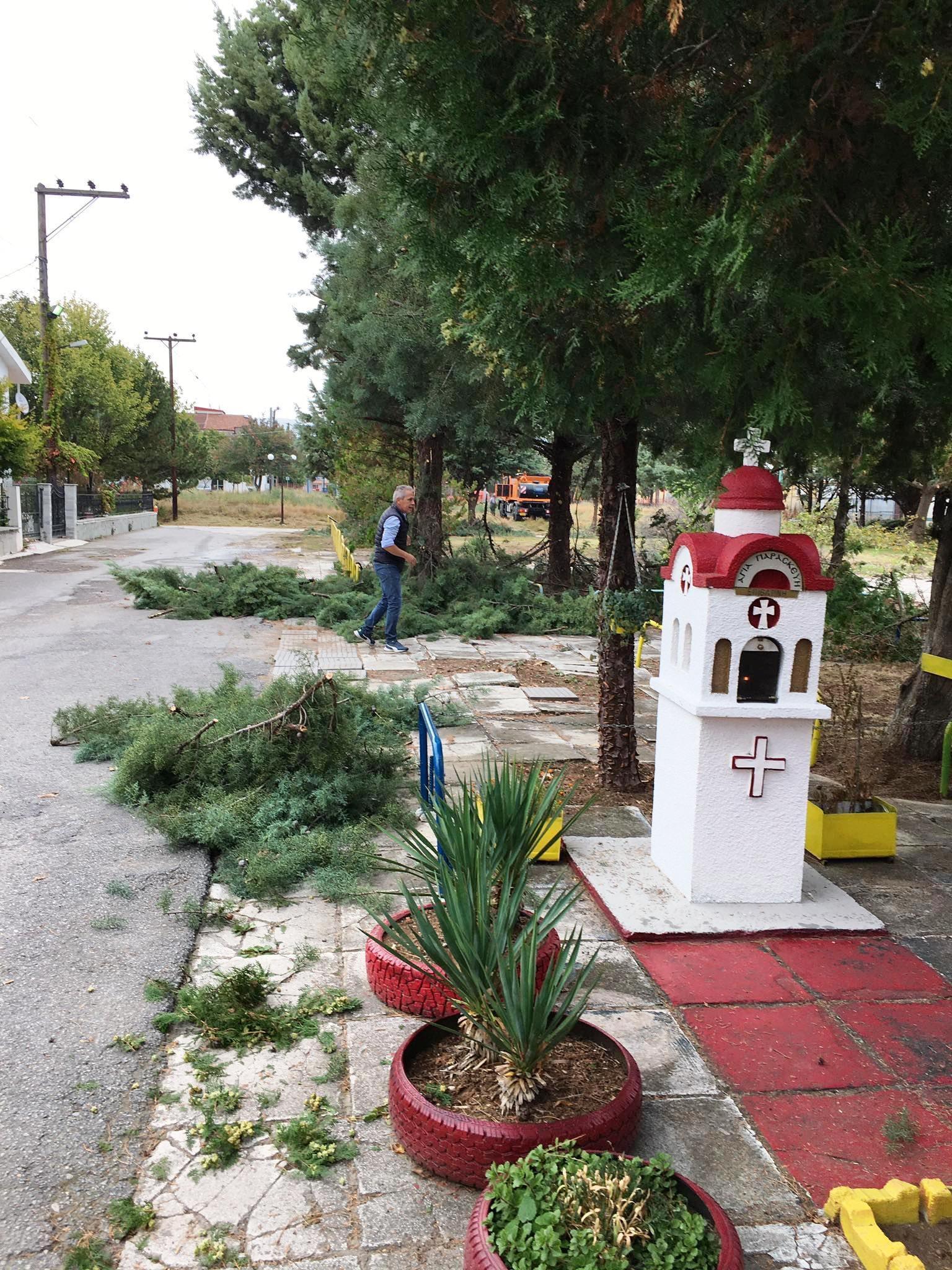 Στις Εργατικές Κατοικίες Πτολεμαΐδας τα συνεργεία του Δήμου Εορδαίας. Ξεκίνημα για το «Θεσμό της Γειτονιάς και της Κοινότητας».