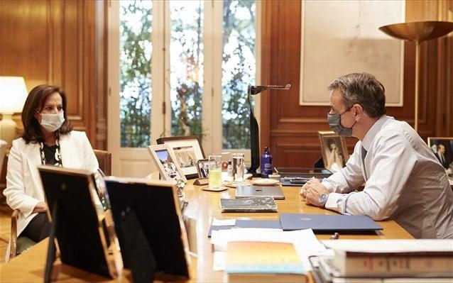 Κυρ. Μητσοτάκης Προτείνει την Α. Διαμαντοπούλου για την ηγεσία του ΟΟΣΑ