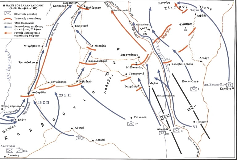 9 ΟΚΤΩΒΡΙΟΥ 1912  ΑΠΕΛΕΥΘΕΡΩΣΗ ΛΙΒΑΔΕΡΟΥ