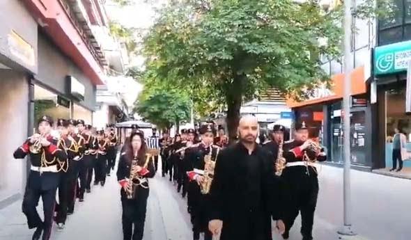 Η Φιλαρμονική ορχήστρα του Δήμου Κοζάνης