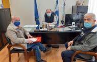 Συνάντηση μελών του ΔΣ του παραρτήματος Πτολεμαΐδας του Πανελλήνιου Συλλόγου Αλληλεγγύης Συνταξιούχων ΔΕΗ, ΠΑΣΑΣ-ΔΕΗ, με τον διοικητή του Γ.Ν. Πτολεμαΐδας