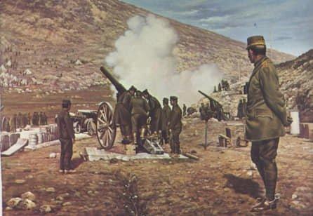 Η πόλη της Σιάτιστας έδωσε ηχηρή παρουσία σε όλους τους απελευθερωτικούς αγώνες του Έθνους. Η συμμετοχή των κατοίκων στους Βαλκανικούς Πολέμους το 1912 – 1913 ήταν η φυσική συνέχεια της γενναίας δράσης τους κατά τη διάρκεια του Μακεδονικού Αγώνα. Χρήστου Γκίνη