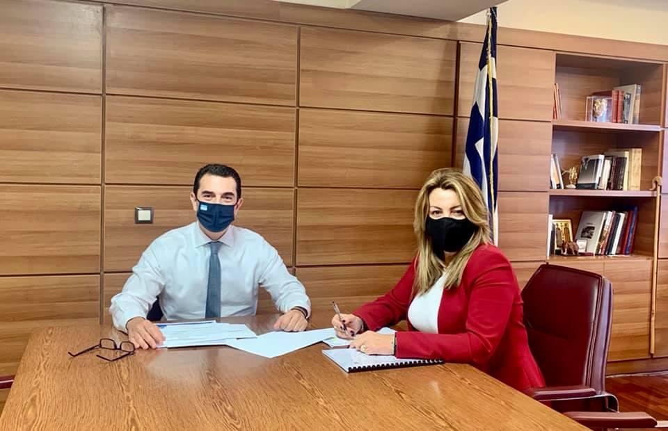 Διαδοχικές συναντήσεις της Μαρίας Αντωνίου, σε Υπουργεία για Έργα πνοής, που θα δώσουν ανάσα στον αγροτικό κόσμο με πολλαπλασιαστικά οφέλη για την ευρύτερη περιοχή Δυτικής Μακεδονίας