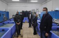 Eξαγωγική επιχείρηση διατήρησης θαλάσσιων καβουριών στο Δρέπανο Κοζάνης (!!!) Επίσκεψη του Γ. Κασαπίδη