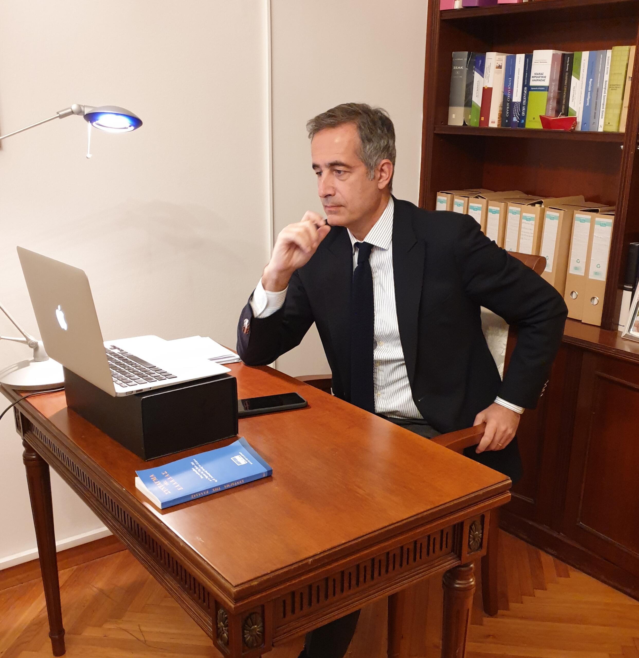 Παρέμβαση του βουλευτή Π.Ε. Κοζάνης Στάθη Κωνσταντινίδη για υποστήριξη κατά προτεραιότητα της Δυτική Μακεδονία και της έννοιας της Δίκαιης Μετάβασης και ιδίως της εστίασης