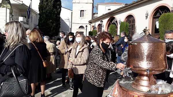 """Κοζάνης Παύλος στη Θεία Λειτουργία των Αγίων Αναργύρων: """"Νόμιζαν οι ταλαίπωροι ότι έφυγε ο Θεός από την Ελλάδα""""."""