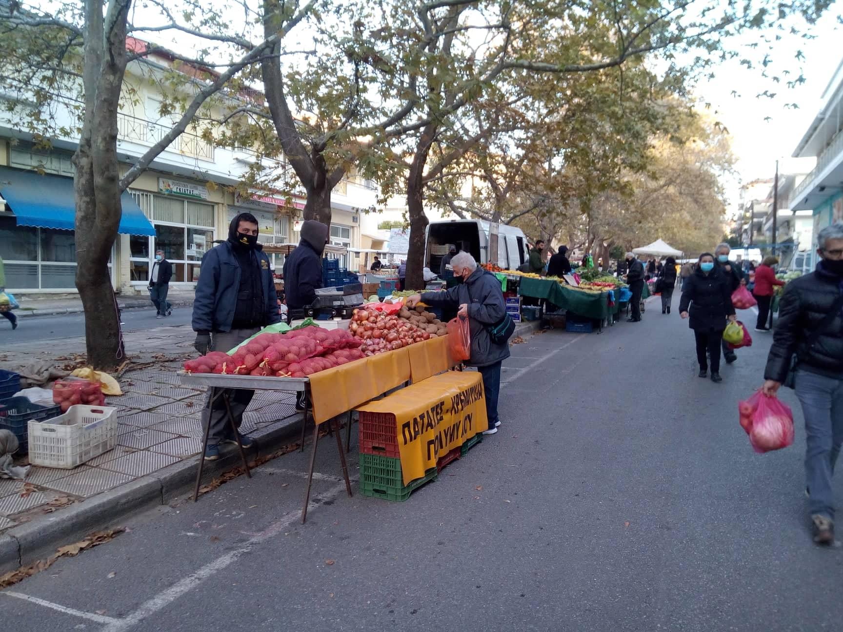Ξεκινά η πιλοτική συλλογή βιοαποβλήτων στη λαϊκή αγορά της Κοζάνης
