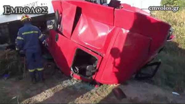 Νεκρός σε τροχαίο 54χρονος οδηγός νταλίκας από τη Σιάτιστα, πατέρας τεσσάρων παιδιών