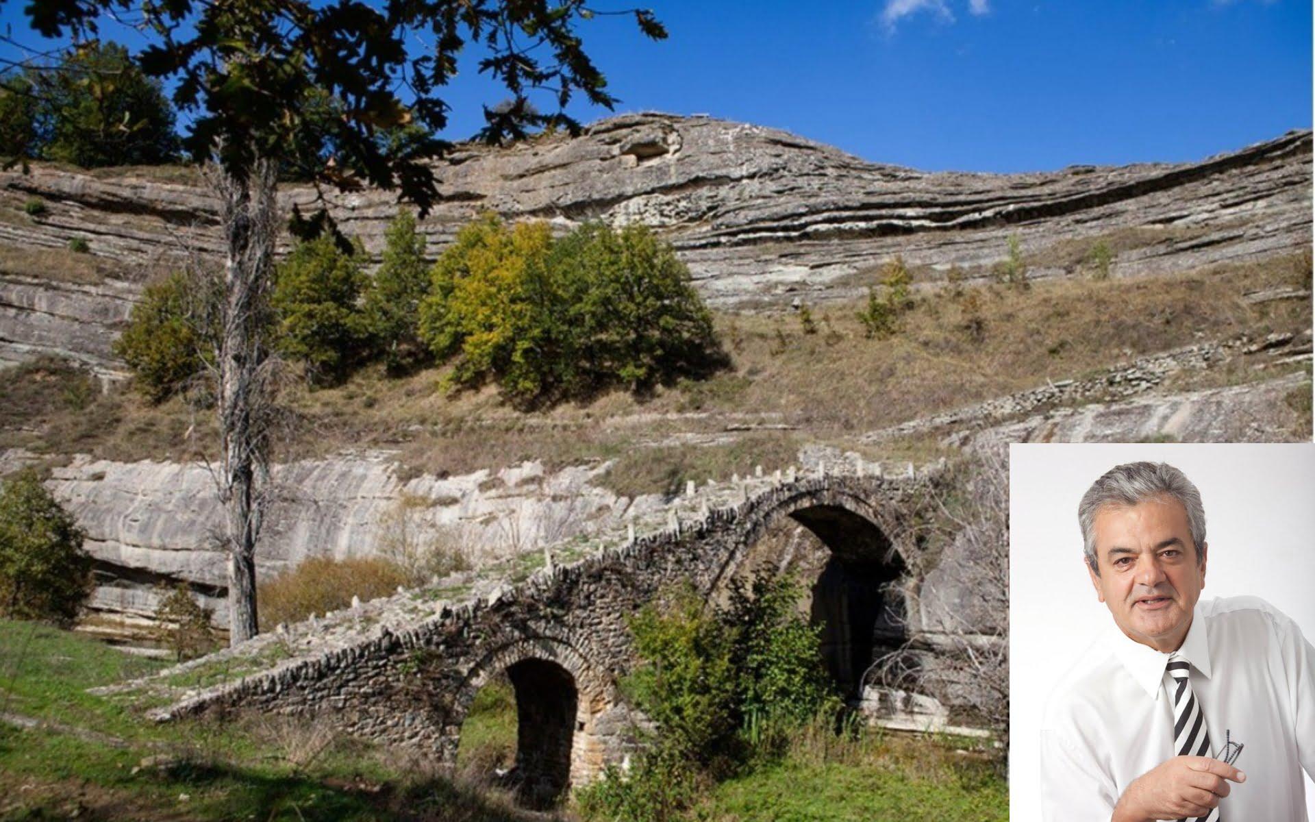 «Σωτηρία» από την κατάρρευση του γεφυριού της Σβόλιανης που συνδέει χωριά του Βοϊου